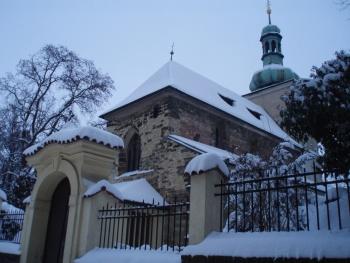 Kostel sv. Václava (celkový pohled)