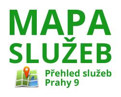 MAPA služeb Prahy 9