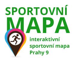 Sportovní interaktivní mapa Prahy 9