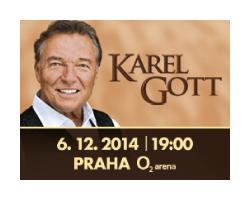 Karel Gott se opět vrací do O2 areny!